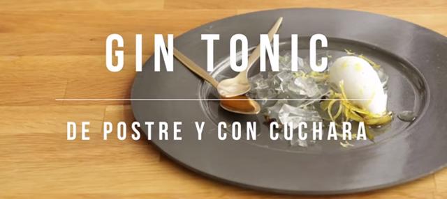 Bm gin tonic de postre y con cuchara - Cuchara de postre ...