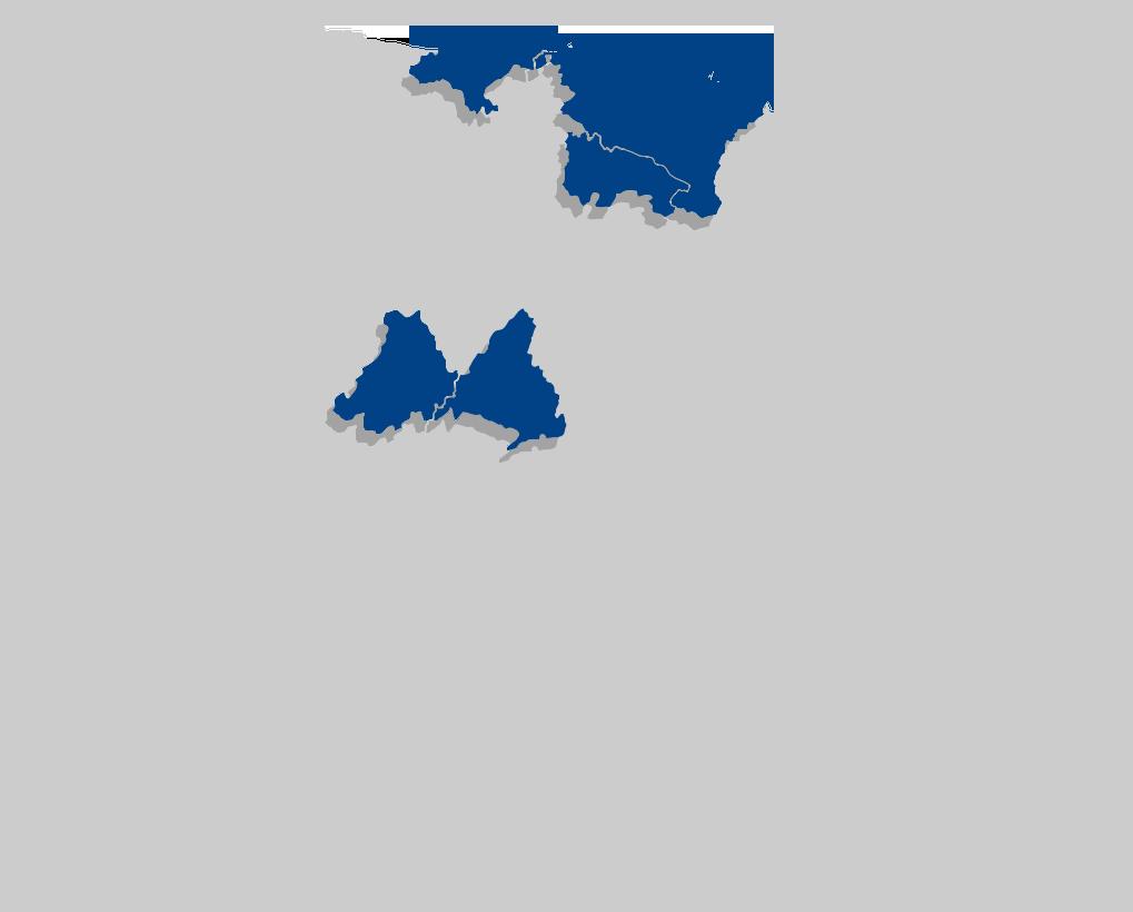 Mapa de los supermercados del Grupo UVESCO