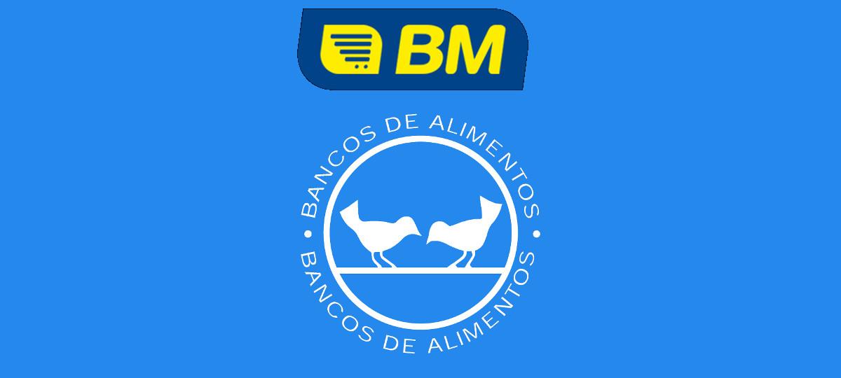BM Supermercados recauda más de 200.000 euros en productos para el Banco de Alimentos