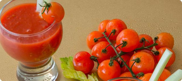 Batido de tomate y apio