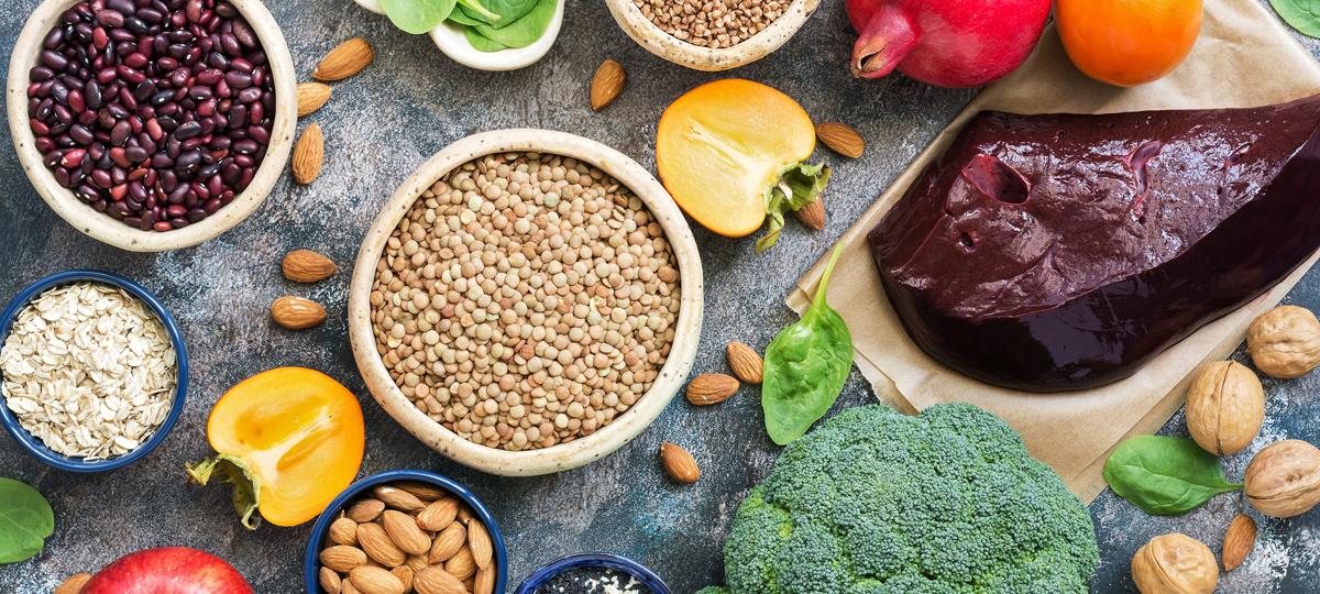 Falta de hierro: 5 alimentos que deben estar en tu dieta