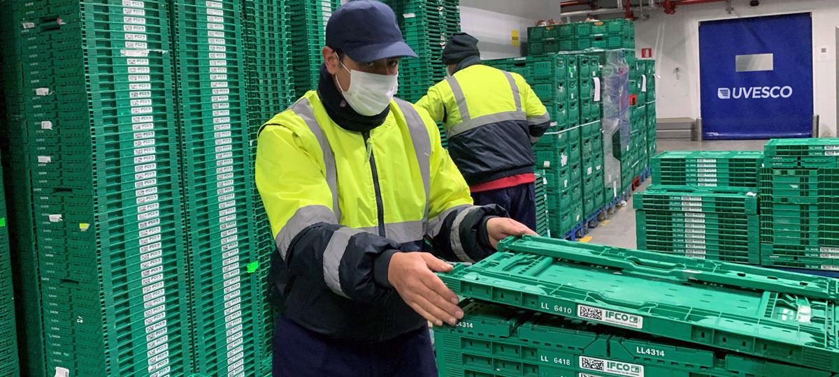 Cajas reutilizables: evitamos más de mil toneladas de residuos en 2020