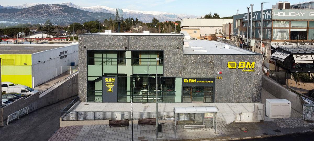 Inauguramos un nuevo supermercado BM en Collado Villalba