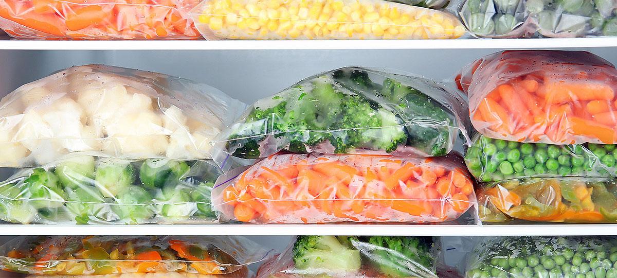 Cómo congelar alimentos para que sigan siendo saludables