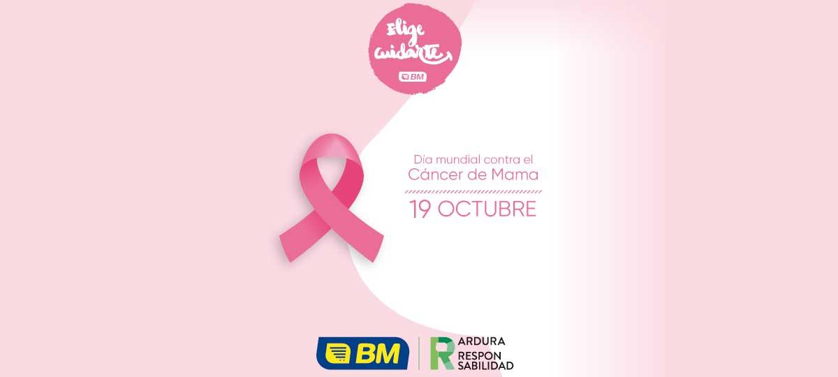 Nos unimos al día mundial contra el cáncer de mama