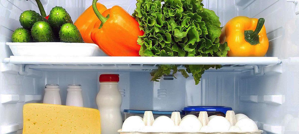 Cómo colocar los alimentos en la nevera