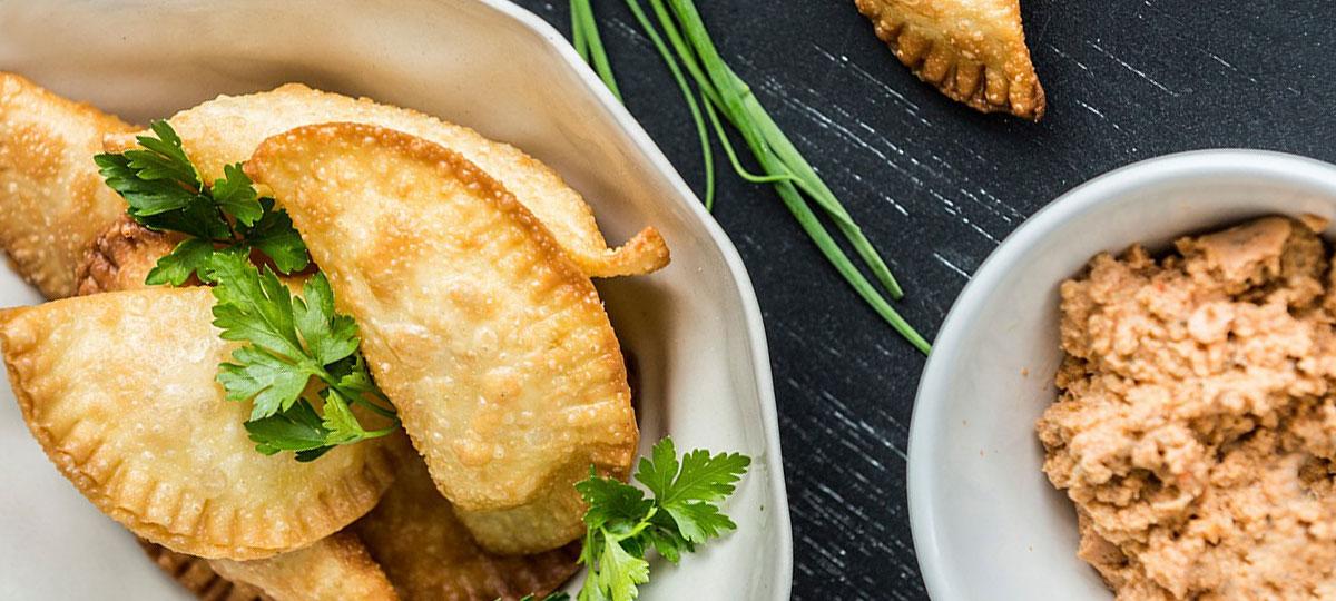 Empanadillas de pastel de pescado