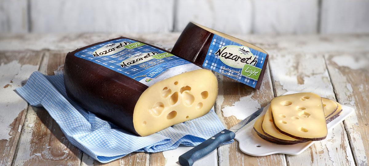 Queso Nazareth light, una saludable delicatessen baja en grasa