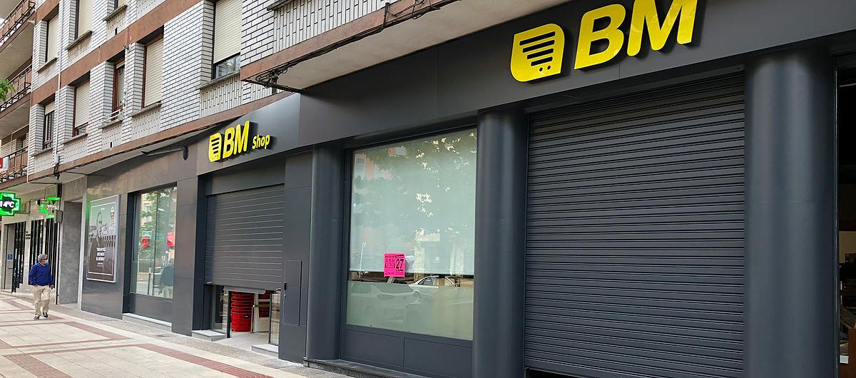 Inauguramos el segundo BM Shop en Álava