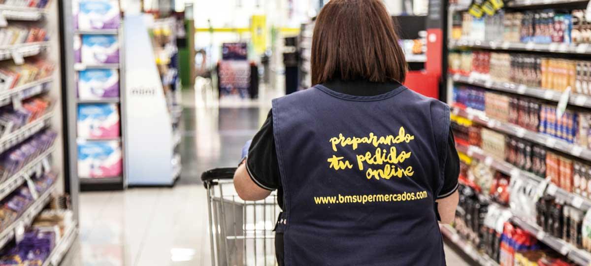 Renovamos el supermercado BM de El Escorial