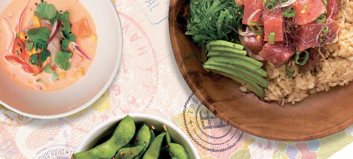 Viajar con el paladar: recetas y sabores para conocer mundo sin moverte de casa