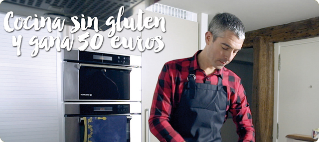 Cocina sin gluten y gana 50 euros