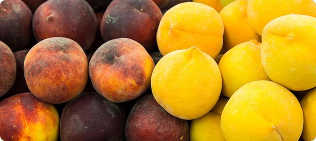 frutas con semilla o hueso