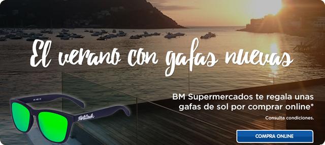 8045e06739 BM: Te regalamos unas gafas de sol por tu compra online