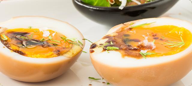 Huevos en soja